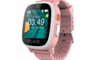 Подробности о детских умных смарт-часах Elari FixiTime 2: функции, дизайн, цена