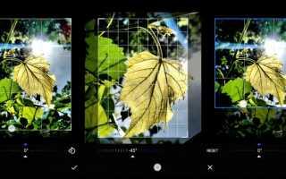 Snap Camera HDR – камера с фоторедактором на Андроид