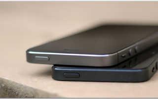 Сравнение iPhone 5 и 5s