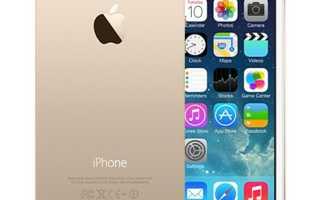 Характеристики iPhone 5s