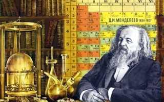 ТАБЛИЦА МЕНДЕЛЕЕВА — периодическая система химических элементов
