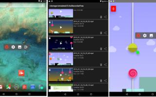 Топ приложений для записи видео с экрана смартфона или планшета