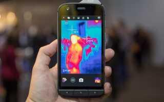 Обзор CAT S61 — Смартфон, измеряющий тепло, расстояние и даже качество воздуха
