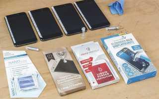 Жидкое стекло для смартфона: достойная альтернатива закаленному стеклу?