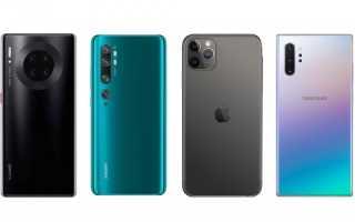 Портал DxOMark определил лучшие камерофоны 2019-го